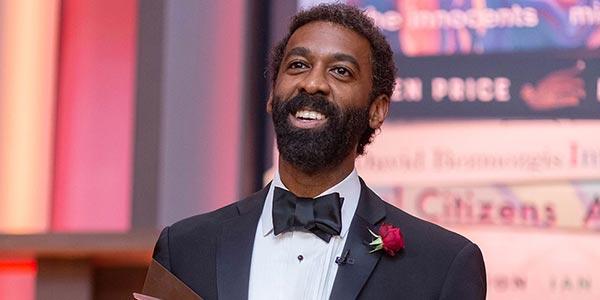 Ian Williams, winner of 2019 Scotiabank Giller Prize