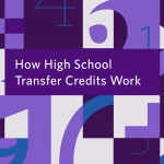 How high school transfer credits work